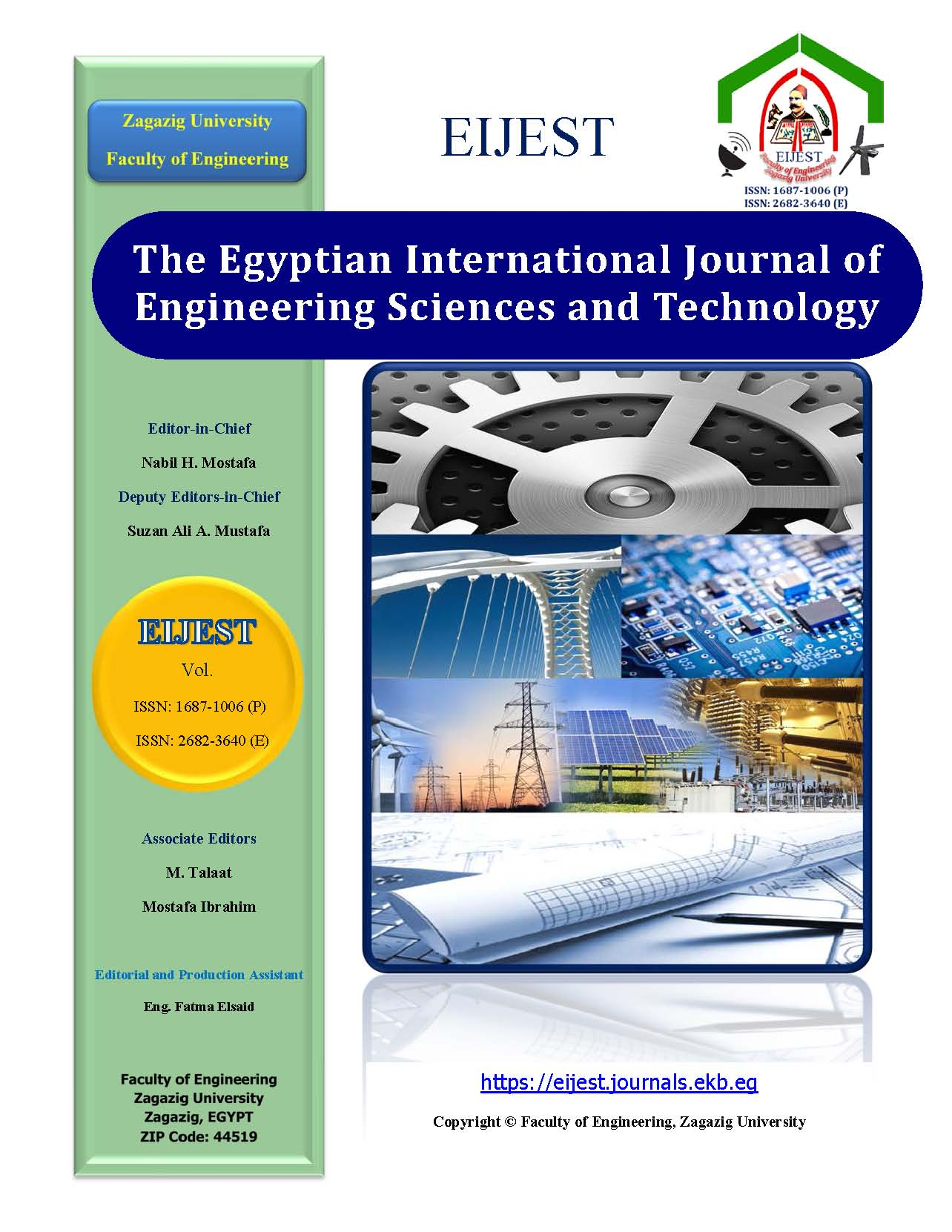 Egyptian Journal for Engineering Sciences and Technology